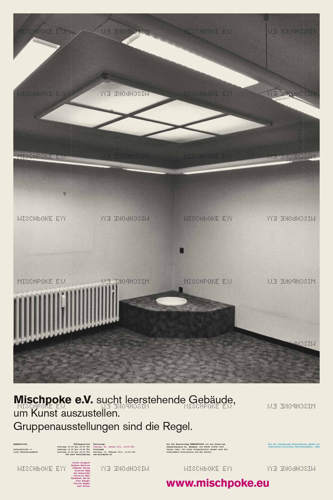 Corporate Design > Plakat für Mischpoke e.V., Kammerspiele