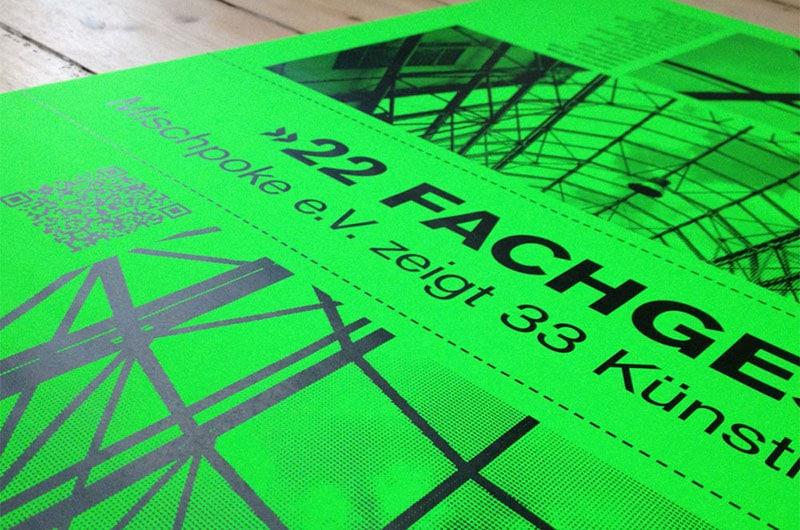 Plakat für den Mischpoke e.V.
