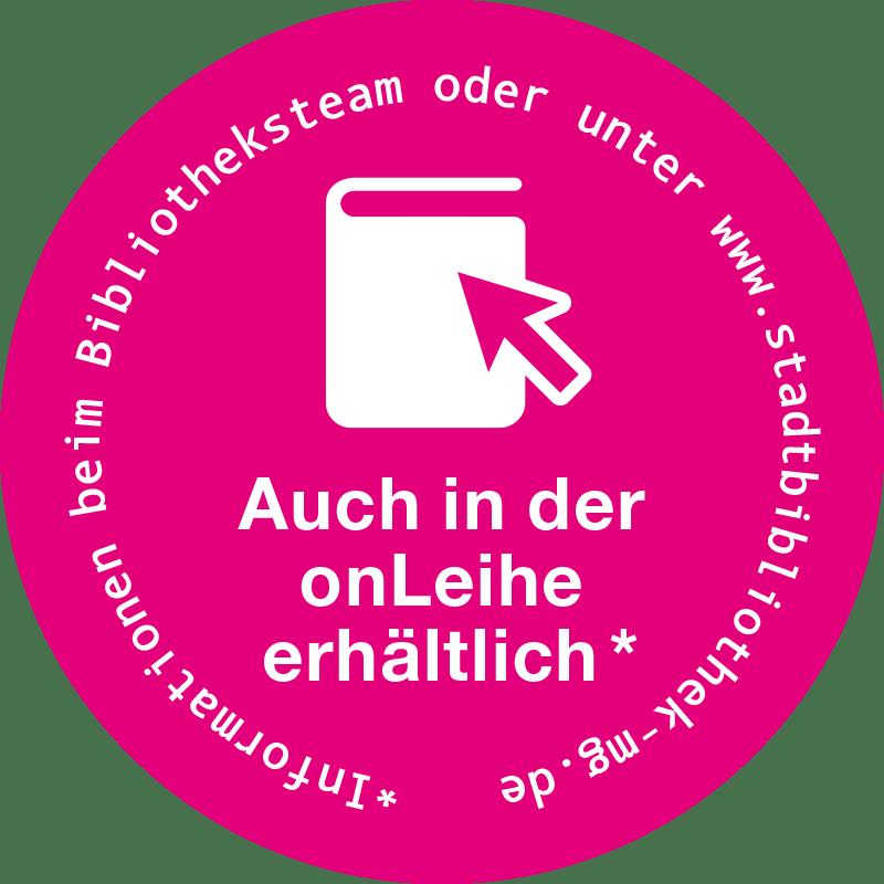 OnLeihe Mönchengladbach > Buchaufkleber, pink