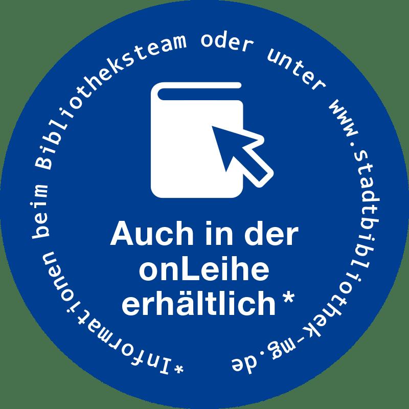 OnLeihe Mönchengladbach > Buchaufkleber, blau
