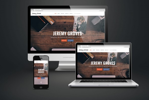 KŒNIGSHAUS – Responsive Website mit Wordpress